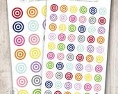 Rainbow Target, Set of 28 or 60