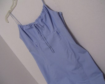 Sheath Dress Sky Blue Ralph Lauren Resort Cruise Wear Back to School Clothes Size 6