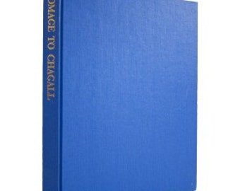 Marc Chagall - Homage to Marc Chagall (1982) Book sku BK0843