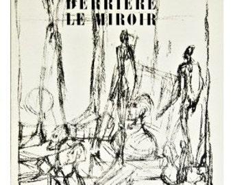 Giacometti - Derriere Le Miroir, no. 39 Book (1951)