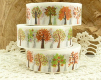 Delicate All Seasons Trees Washi Tape - HH1796