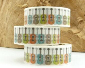 Rainbow Guitar Washi Tape - FF1708