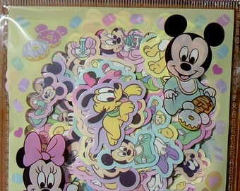 BABY DISNEY Sticker FLAKES 100 Pcs