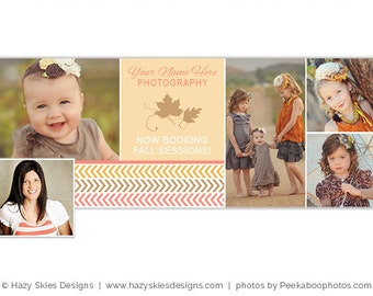 Fall Facebook Timeline Cover for Photographers, Facebook Timeline Template, Photography Marketing - FB163