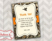 Little Duckling Thank You Card
