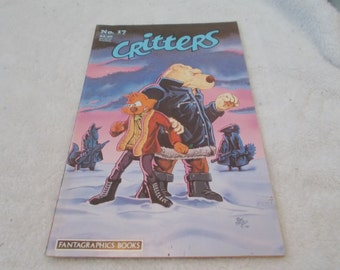 Vintage Comic Book -CRITTERS No 17 Sept 1987