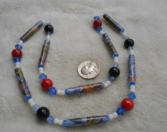 Vintage Necklace- Beautiful Beaded Necklace-N1640