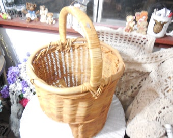 Stair Way Basket Wicker Hard to Find / Not Included in Sale New Listing  /stairway basket