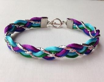 Lindsay's Peacock Bracelet