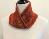 Linen Stitch Mobius Cowl ~ Crochet PATTERN PDF ONLY