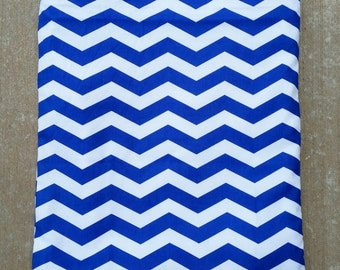 Stylish Blue Chevron Wet/Dry Bag Wet or Swimsuit Bag and Eco-Friendly
