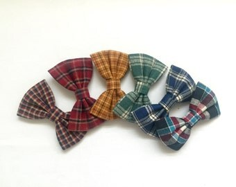 Plaid Mini Bows