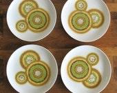 Noritake Mai-Tai Pattern Side Plates-Set of 4