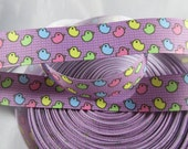 "Colorful rubber duck bath time Ribbon, Rubber duck 7/8"" ribbon by the yard, RN14410"