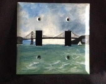 San Francisco Light Switch Plate