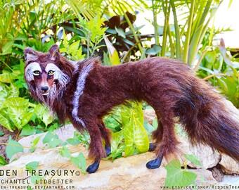 Wolf Figurine Etsy