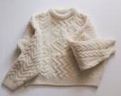 Vintage Aran Sweater