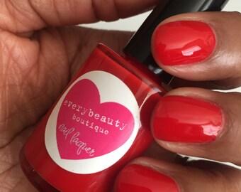 La Doña Classic Red Nail Polish