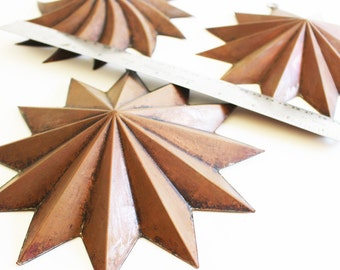 Vintage Copper Star Molds