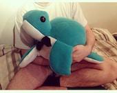 Handmade Giant Terrence The Dapper Sea Turtle Cushion Plush