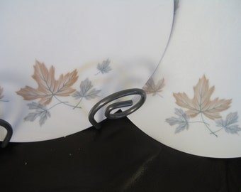 Noritake Maplewood dinner plates, Retro, Maplewood, Cookin Serve discontinued, Very good Set of 2 is included