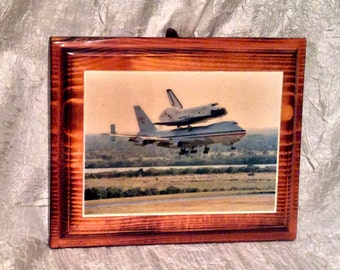 """Space Shuttle """"Columbia"""" Piggy Backing on NASA Jet, End of an Era in Space Program"""