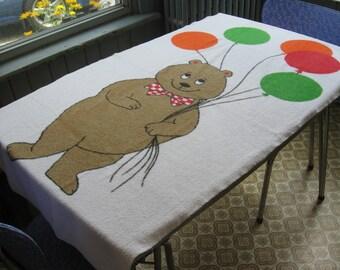 Bear Bath Towel Etsy