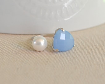 The Talia Ring - Periwinkle