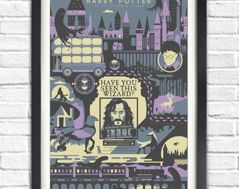 Harry Potter - 3 - The Prisoner of Azkaban - 19x13 Poster