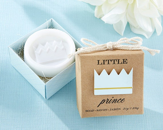 soap baby shower gift party favors boy party favors blue favors