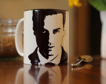 Andrew Scott, Jim Moriarty, Sherlock, Sherlock Holmes, Locke, Hand Printed Cup