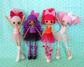 Lalaloopsy Girls Clothes - Custom Tutu - Made to Order - You Choose the Colors