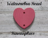 Extra Anniversary Hearts with Rings For Family Birthday Board/ Celebration Board....Watermelon...Havensplace