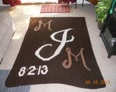 Initial or Monogrammed Blanket