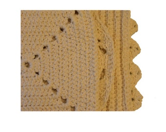 Crocheted Organic Cotton Wash Cloth