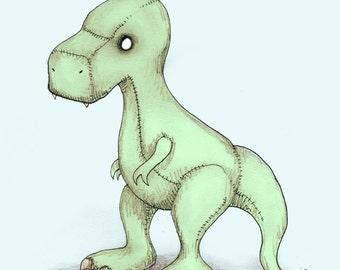 Dinosaur Fine Art Print