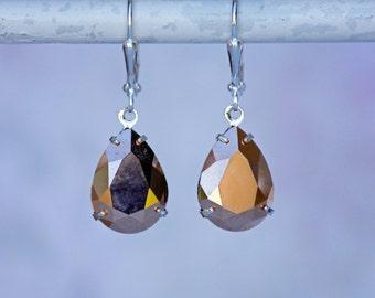 Rose Gold Swarovski Earring