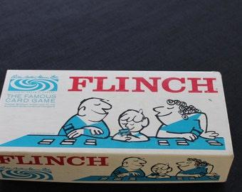 vintage Parker Brothers Flinch game