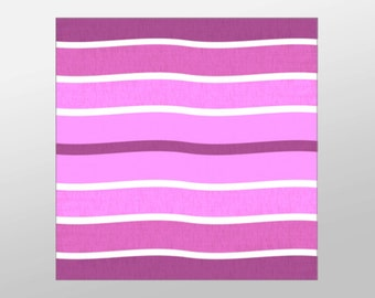 Purple Wavy Lines Canvas Art Print, Abstract Wall Art, Purple Canvas Print, Artistic Wall Art, Canvas Art, Canvas Print, Home Art, Wall Art