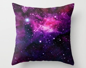Space Pillow Case Nebula Pillow Space Pillow Cover Space Throw Pillow Galaxy Throw Pillow Space Abstract Throw Pillow Colorful Pillow Cover