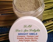 Want your teeth dentist clean?  Want plaque gone?  Try my Bright Smile Tooth Powder