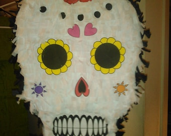 Calavera Dia de los Muertos Day of the Dead Pinata
