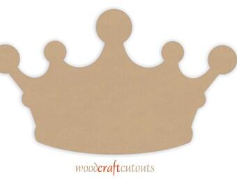 "14"" wide Crown Cutout Shape"