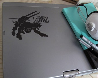 Lighting Saix Decal - Zoids Inspired Design