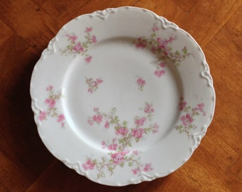 Haviland Limoges France -  Single Large Salad Plate or Luncheon Plate