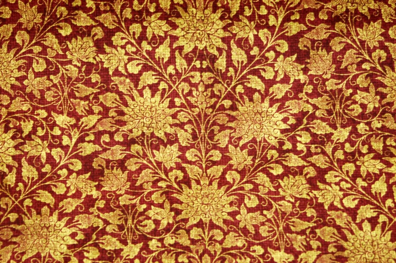 Home Decor Fabrics By The Yard: Waverly Sable Ridge Home Decor Fabric MERLOT Fabric By The