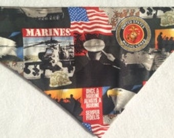 United States Marines Dog Bandana!!