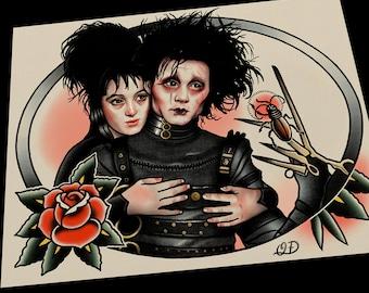 Edward and Lydia Art Print