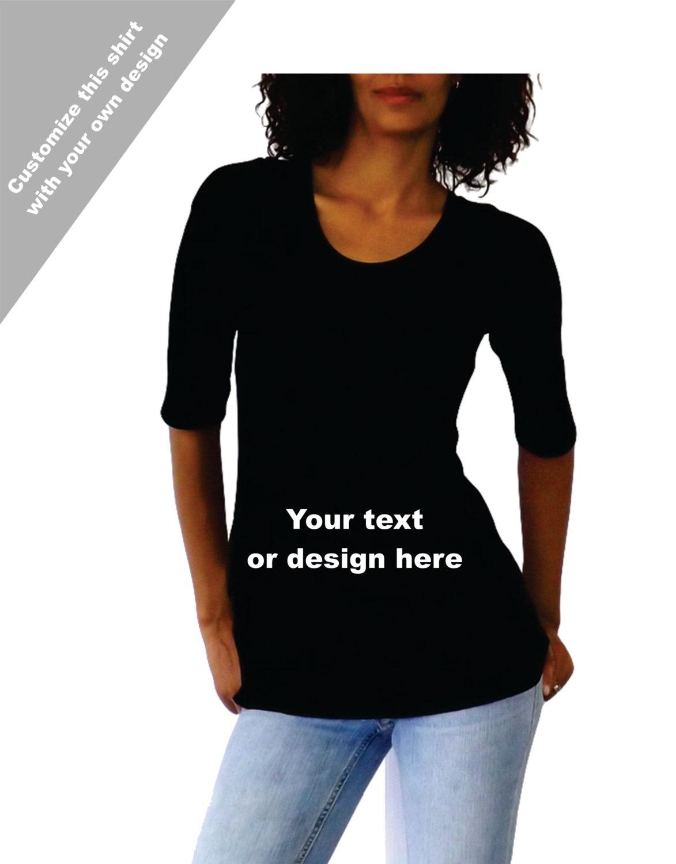 Custom maternity shirt print your own design in this for Custom shirts design your own