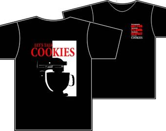 Let's Talk Cookies COLOR Mixer Tshirt